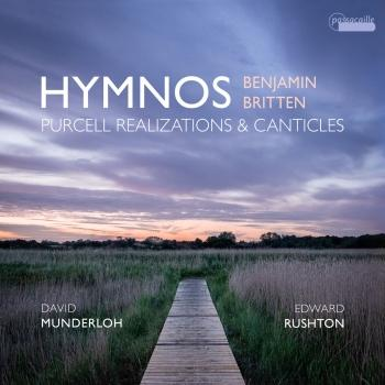 Cover Hymnos: Purcell Realizations and Canticles by Benjamin Britten