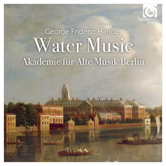 Cover Handel: Water Music