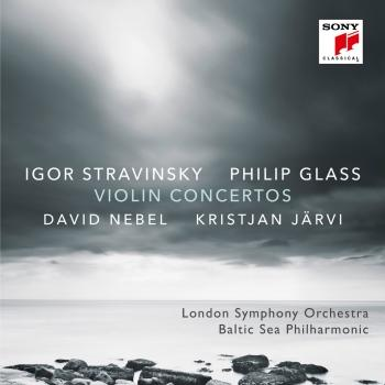 Cover Stravinsky & Glass: Violin Concertos