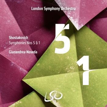 Cover Shostakovich: Symphonies Nos. 5 & 1