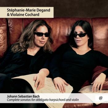 Cover J.S. Bach: Complete sonatas for obbligato harpsichord and violin