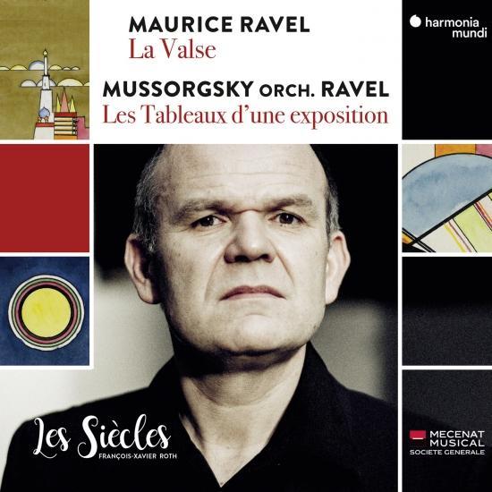 Cover Ravel: La Valse - Mussorgsky: Les Tableaux d'une exposition (Orch. Ravel)