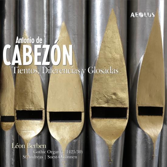 Cover Antonio de Cabezón: Tientos, diferencias y glosadas