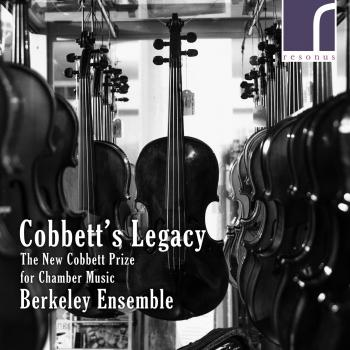 Cover Cobbett's Legacy: The New Cobbett Prize for Chamber Music
