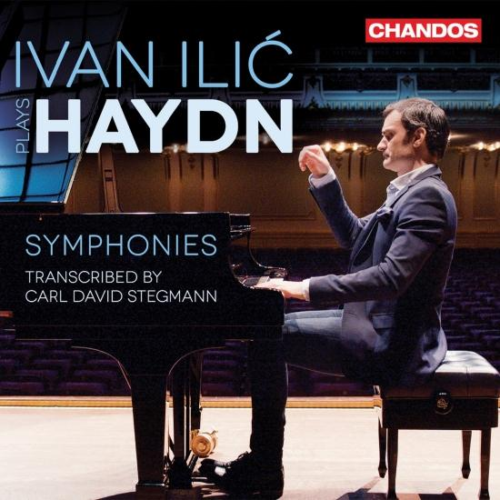 Cover Haydn: Symphonies Nos. 92, 75 & 44 (Transcr. C.D. Stegmann for Piano)