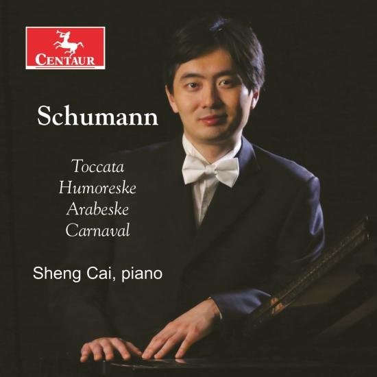 Cover R. Schumann: Piano Music