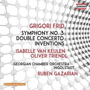 Cover Frid: Symphony No. 3, Double Concerto & Inventions