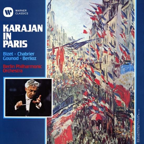 Cover Karajan in Paris