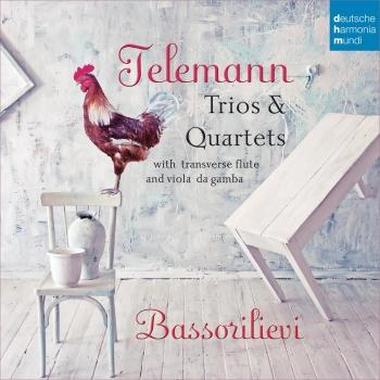 Cover Telemann: Trios & Quartets with Transverse Flute and Viola da gamba