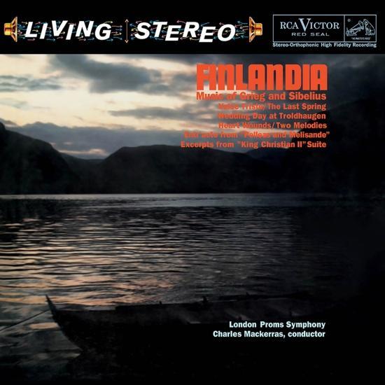 Cover Finlandia - Music Of Grieg & Sibelius (Remastered)