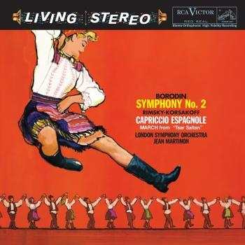 Cover Borodin: Symphony No. 2; Rimsky-Korsakov: Capriccio Espagnole; March From 'Tsar Saltan' (Remastered)