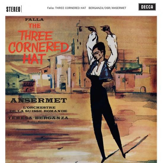 Cover Falla: The Three Cornered Hat (Remastered)