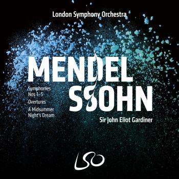 Cover Mendelssohn: Symphonies Nos 1-5, Overtures, A Midsummer Night's Dream