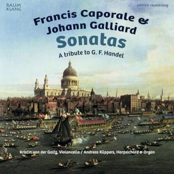 Cover Francis Caporale & Johann Galliard: Sonatas