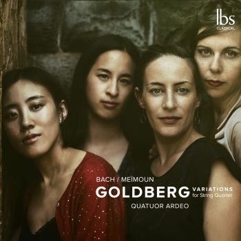 Cover Bach: Goldberg Variations (Arr. F. Meïmoun for String Quartet)