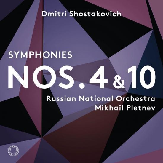 Cover Shostakovich: Symphonies Nos. 4 & 10