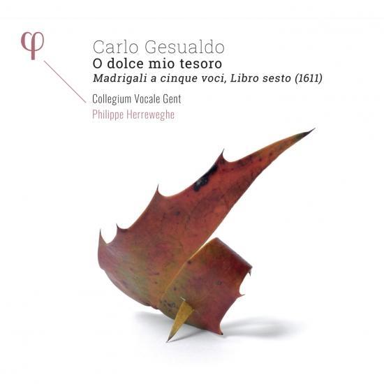 Cover Gesualdo: O dolce mio tesoro. Madrigali a cinque voci, Libro sesto (1611)