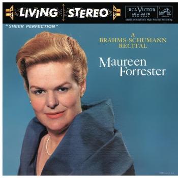 Cover Maureen Forrester - A Brahms-Schumann Recital
