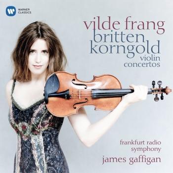 Cover Korngold & Britten: Violin Concertos
