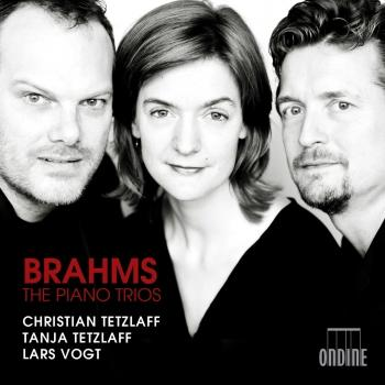 Cover Brahms: The Piano Trios