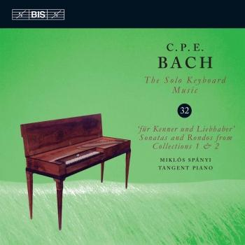 Cover C.P.E. Bach: The Solo Keyboard Music, Vol. 32