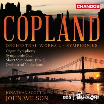 Cover Copland: Orchestral Works, Vol. 2 (Symphonies)