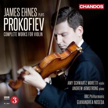 Cover James Ehnes plays Prokofiev