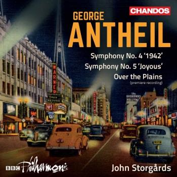Cover Antheil: Orchestral Works, Vol. 1