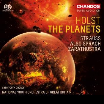 Cover Holst: The Planets - R. Strauss: Also sprach Zarathustra