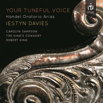Cover Your Tuneful Voice: Handel Oratorio Arias