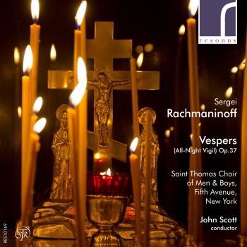 Cover Sergei Rachmaninoff: Vespers (All-Night Vigil), Op. 37
