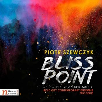 Cover Piotr Szewczyk: Bliss Point – Selected Chamber Works