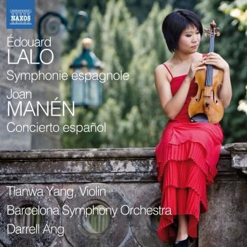 Cover Lalo: Symphonie espagnole - Manen: Violin Concerto No. 1