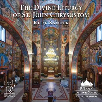 Cover Kurt Sander: The Divine Liturgy of St. John Chrysostom