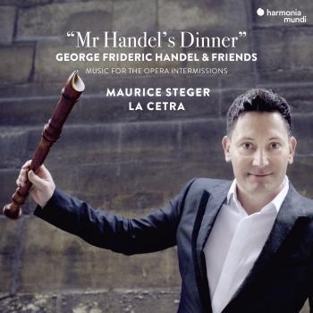 Cover Mr Handel's Dinner