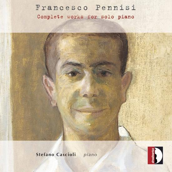 Cover Pennisi: Complete Works for Solo Piano