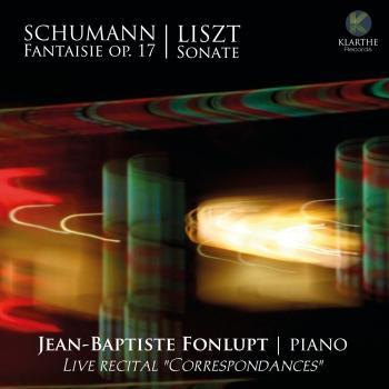 Cover Live recital 'Correspondances'