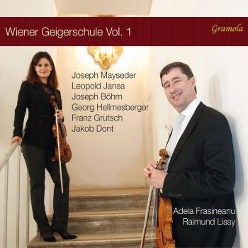 Cover The Viennese Violin School, Vol. 1