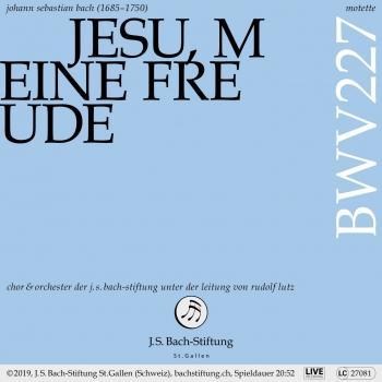Cover Motette, BWV 227 - Jesu, meine Freude (Live)