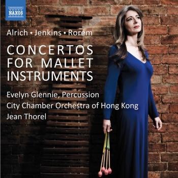 Cover Alrich, Jenkins & Rorem: Mallet Concertos