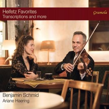 Cover Heifetz Favorites: Transcriptions & More