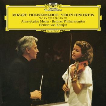 Cover Mozart: Violin Concerto No.3 In G, K.216; Violin Concerto No.5 In A, K.219