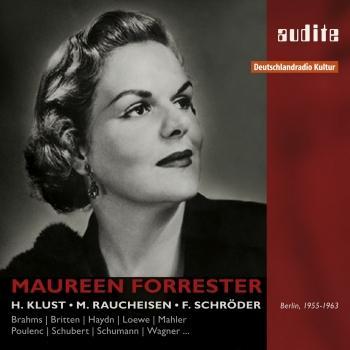 Cover Porträt Maureen Forrester - Aufnahmen 1955 - 1963 (Remastered)
